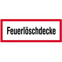 Modellbeispiel:, Hinweisschild, Feuerlöschdecke, Art. 21.2870