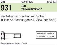DIN931 M16x300