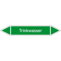 Rohrleitungskennzeichnung/Pfeilschild Gruppe1 Wasser(grün),selbstkl. 22,3x3,7cm Version: P1404 DIN 2403 - Trinkwasser P1404