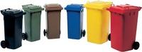 Müllgroßbehälter 120l HDPE gelb fahrbar.n.EN 840 SULO