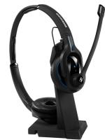 Headset mit Ladeständer