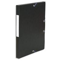 5 ETOILES Boîte de classement à élastique en carte lustrée 7/10, 600g. Dos 25mm. Coloris noir.