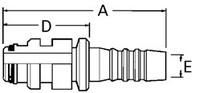 AEROQUIP 1S12SL12