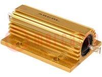 Resistor: bobinado; con radiador; atornillado; 100Ω; 100W; ±5%
