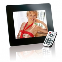 "Intenso 8"" MediaDirector digital photo frame 20.3 cm (8"") Black"