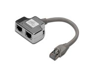 Patchkabel Adapter, CAT 5e, Klasse D, RJ45, geschirmt, Digitus® [DN-93904]