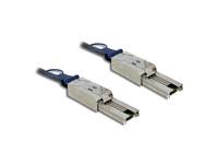 Mini SAS Kabel SFF-8088 an Mini SAS SFF-8088, 2m, Delock® [83571]