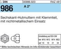 Hutmuttern M12