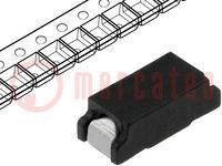 Sicherung: Schmelz; schnell; Keramik; 2A; 125VAC; 125VDC; SMT