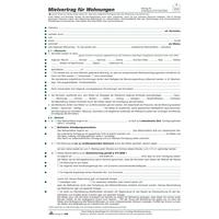 Rnk Mietvertrag 525 Wohnung Din A4 6blatt Bei Mercateo Günstig Kaufen