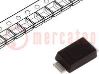 Diode: Schaltdiode; SMD; 200V; 1A; 25ns; 1W; Verpackung: Rolle, Band
