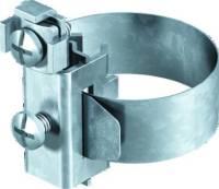 Erdungsrohrschelle Ms 8-22mm vernick 2f 2,5-10qmm