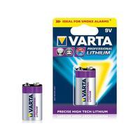 Varta Batterie LITHIUM 9V 1St.