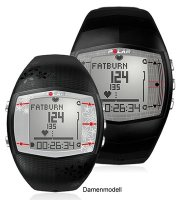 Polar-Pulsuhr Modell FT40M Black