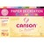 CANSON Pochette 12 feuilles papier couleur CREATION 150g 21x29,7cm. Assortiment de couleurs vives