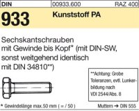 DIN933 M3x12