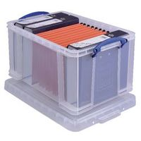 Really Useful Boxes Archiefboxen 48L Transparant plastic 48,0 l