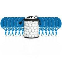 """Cornilleau Tischtennisschläger-Set """"Tacteo 30 Outdoor"""", Bälle Weiß"""