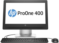 "HP ProOne 400 G2 2.5GHz i5-6500T 20"" 1600 x 900Pixels Zilver Alles-in-één-pc"