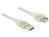 Verlängerungskabel USB 2.0 A Stecker an USB 2.0 A Buchse, transparent, 3m, Delock® [83884]