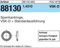 Sperrkantringe VSK-D 8x14,8x2