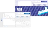 Kurzbrief Abreißblock Links Verleimt 13 Din A4 100 Blatt Bei