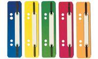ELBA Heftstreifen, PP, rot, kurz, 35 x 150 mm, PP-Deckleiste (61027591)