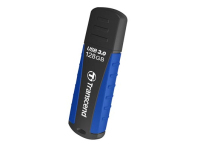Transcend JetFlash 810 USB-Stick 128 GB USB Typ-A 3.2 Gen 1 (3.1 Gen 1) Schwarz, Blau