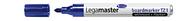 Legamaster Boardmarker TZ 1, nachfüllbar, 1,5 - 3 mm, Blau, 10er Karton