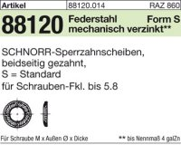 SCHNORR-Sperrzahnsch. S10x16x1