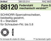 SCHNORR-Sperrzahnsch. S8x13x0,8