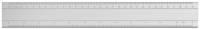 Aluminium - Reduktionslineal 30 cm