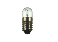 Produktabbildung - S+H Röhrenlampe Kleinröhrenlampe 9x23mm Sockel E10 12 Volt 2 Watt