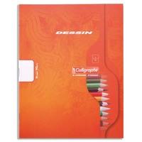 CALLIGRAPHE Cahier de dessin 90g 16 pages réglure unie format 17x22-CALLIGRAPHE 7000