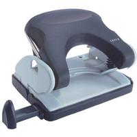 Locher Topstyle®, mit Anschlagschiene, 16 Blatt, 1,6 mm, schwarz