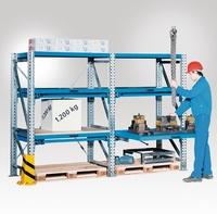 Auszugboden extra BxT 900 x 1250 mm , Fachlast 1000 kg