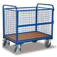 VARIOFIT Drahtkastenwagen Transportwagen, Eigengewicht: 59 kg, Ladefläche: 1200 x 800 mm