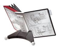 DURABLE Sichttafelsystem SHERPA® TABLE 10, farbig sortiert