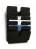 DURABLE Prospektspender-Set FLEXIPLUS 6 A4 QUERFORMAT, schwarz