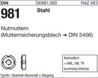Nutmuttern KM15M75x2
