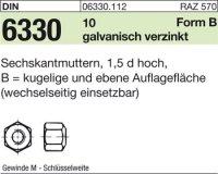 Sechskantmuttern BM6SW10