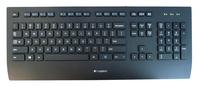 Logitech K280e Tastatur USB QWERTZ Deutsch Schwarz