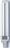 Kompakt-Leuchtstofflampe RX-S 7W/830/G23
