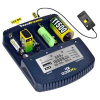 AccuPower Universal IQ338XL Ladegerät Li-Ion/Ni-Cd/Ni-MH