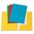 NEUTRE Paquet de 50 sous-dossiers imprim�s en kraft 160gr � 2 rabats. Format 24x32cm. Coloris assortis
