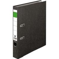Ordner DIN A4 50mm Recycling Pappe schwarz