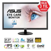 """ASUS VP228DE 54.6 cm (21.5"""") 1920 x 1080 pixels Full HD LCD Black"""