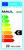 Energieeffizienzetikett für Leuchten