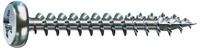 Dresselh. 4003530015342 4,5 x 25 SPAX-Schrauben Pan-Head-Z galv. verzinkt