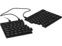 Split Keyboard, (UK), blackQWERTY, wired. Windows, LinuxIntegrated numeric keyboard Keyboard